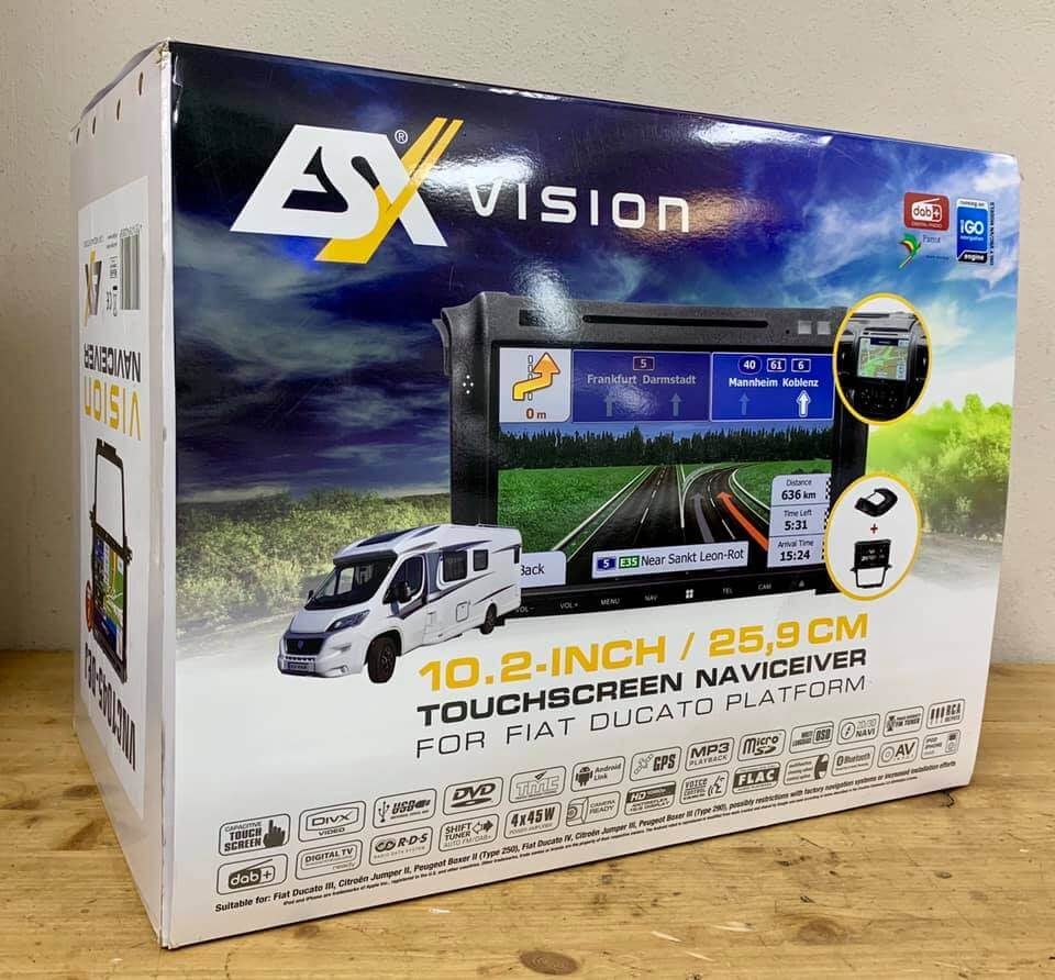 ESX Vision Naviceiver