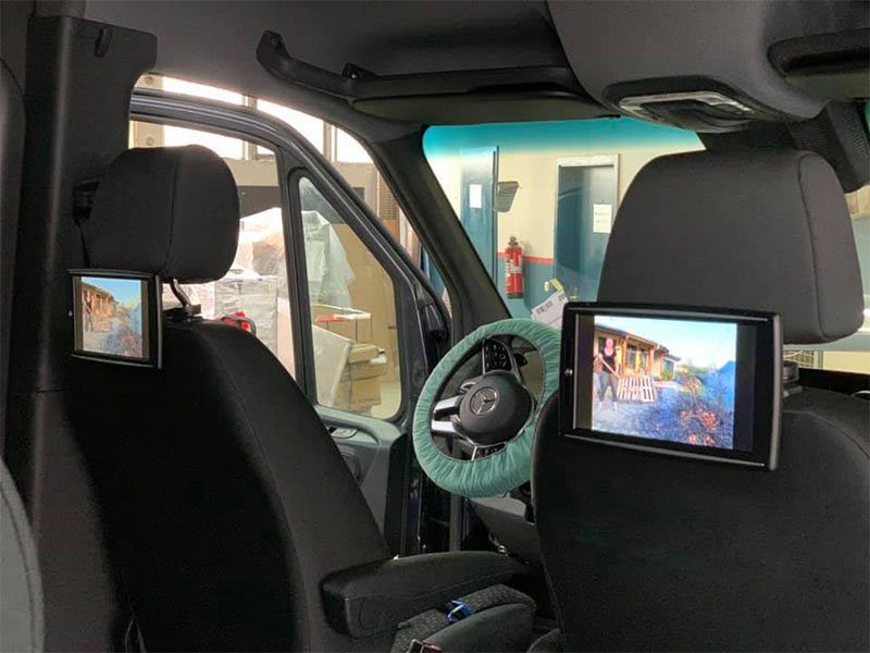 Multimedia im Mercedes Sprinter